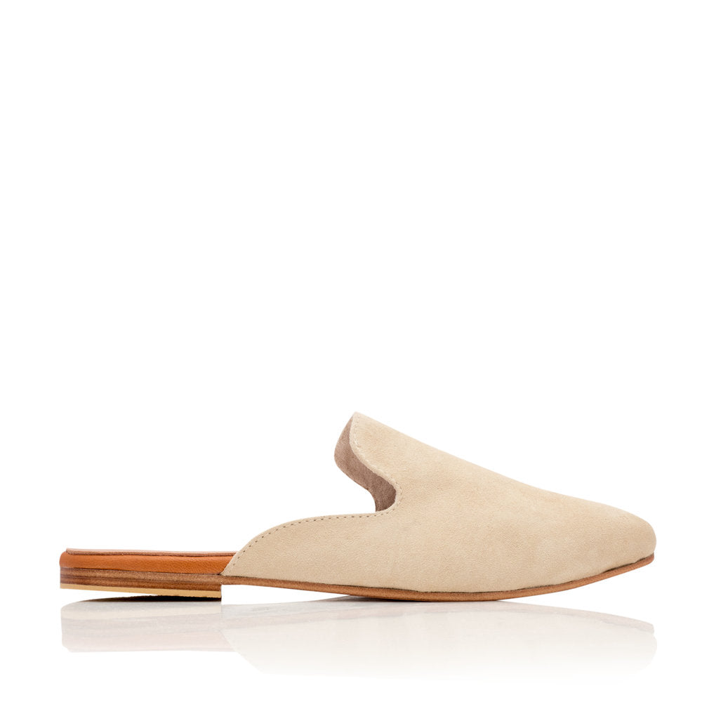 ADELINE MULES - NUDE (MADE TO ORDER)