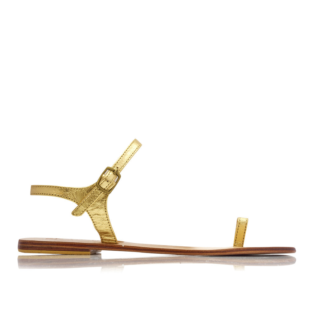 ZIGGY SANDALS  - GOLD