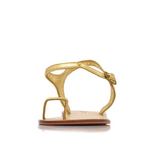 Load image into Gallery viewer, ZIGGY SANDALS  - GOLD