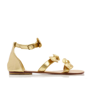 LOLA SANDALS - GOLD (MADE TO ORDER)