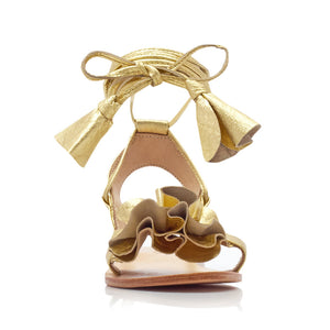 BONNIE SANDALS - GOLD (MADE TO ORDER)