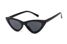 Load image into Gallery viewer, MINI CAT EYE SUNGLASSES - BLACK
