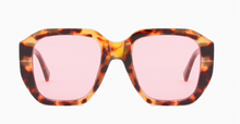 Load image into Gallery viewer, PINK LENS TORT SUNGLASSES