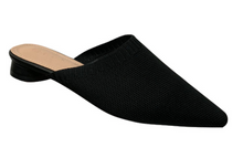 Load image into Gallery viewer, SOPHIE KNIT MULES - BLACK