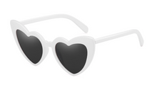 Load image into Gallery viewer, MAMA HEART SUNGLASSES - WHITE | SOLD OUT