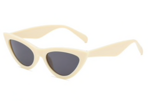 NUDE CAT EYE SUNGLASSES