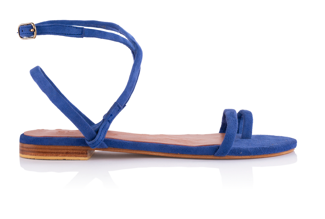 MONICA SANDALS - ELECTRIC BLUE
