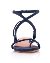 Load image into Gallery viewer, MONICA SANDALS - NAVY