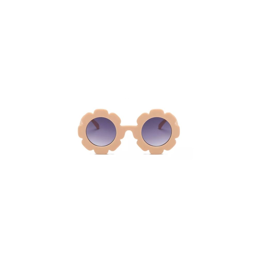 MINI FLOWER SUNGLASSES - PEACH
