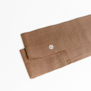 "GIMME Ultra Thin 2"" Headwrap Chestnut 2CT"