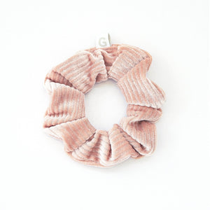 GIMME Scrunchy Dusty Rose Corduroy 1CT