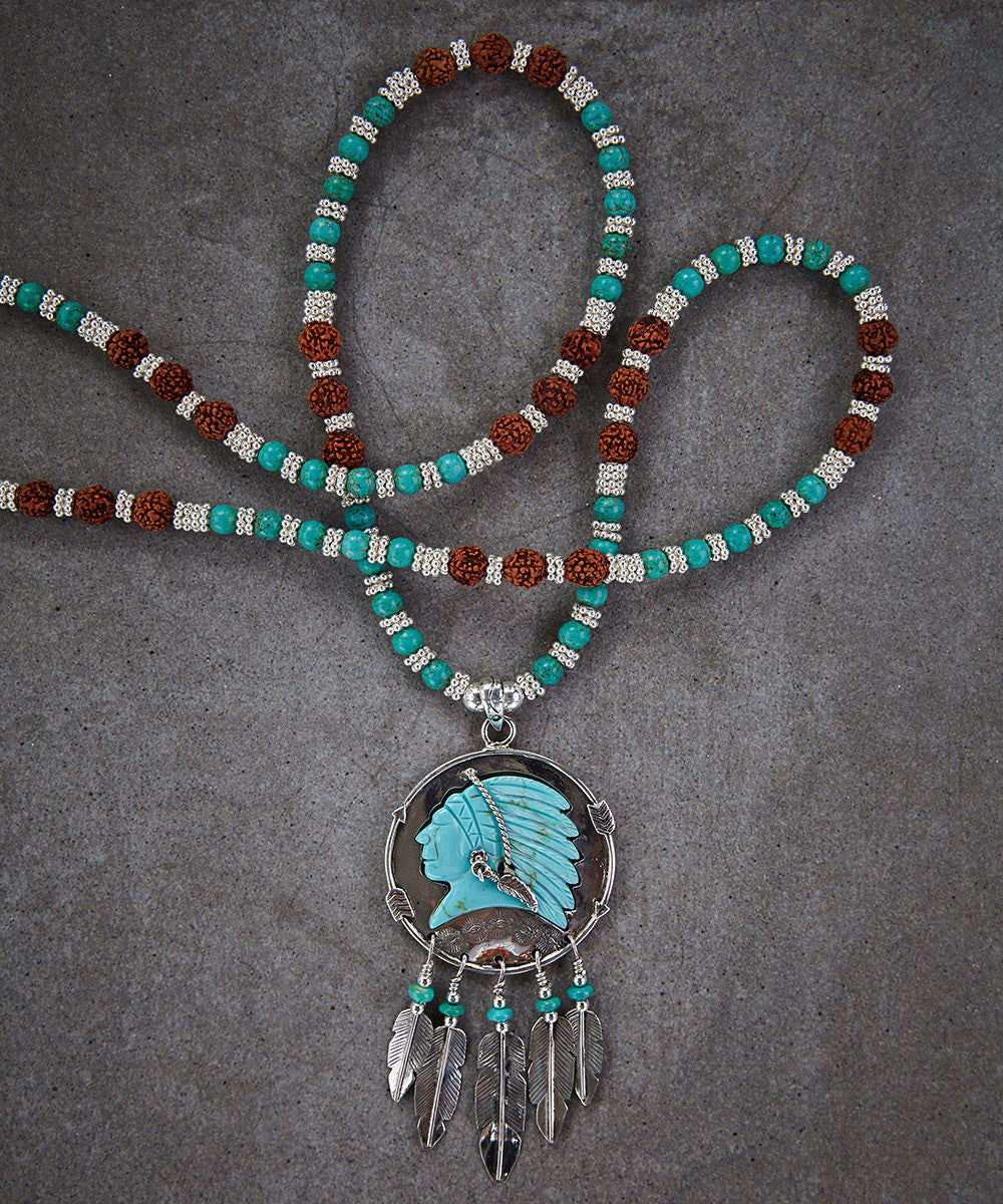 Big Chief Necklace - Zen Sisters