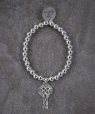 Celtic Cross Bracelet - Zen Sisters