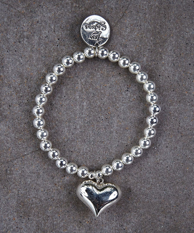 Bubble Heart Bracelet - Zen Sisters