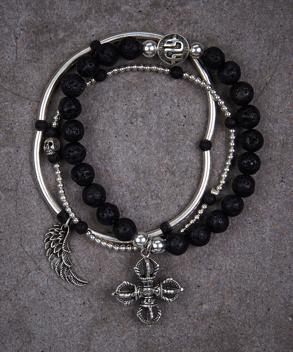 Rebel Yell Trio of Bracelets - Zen Sisters