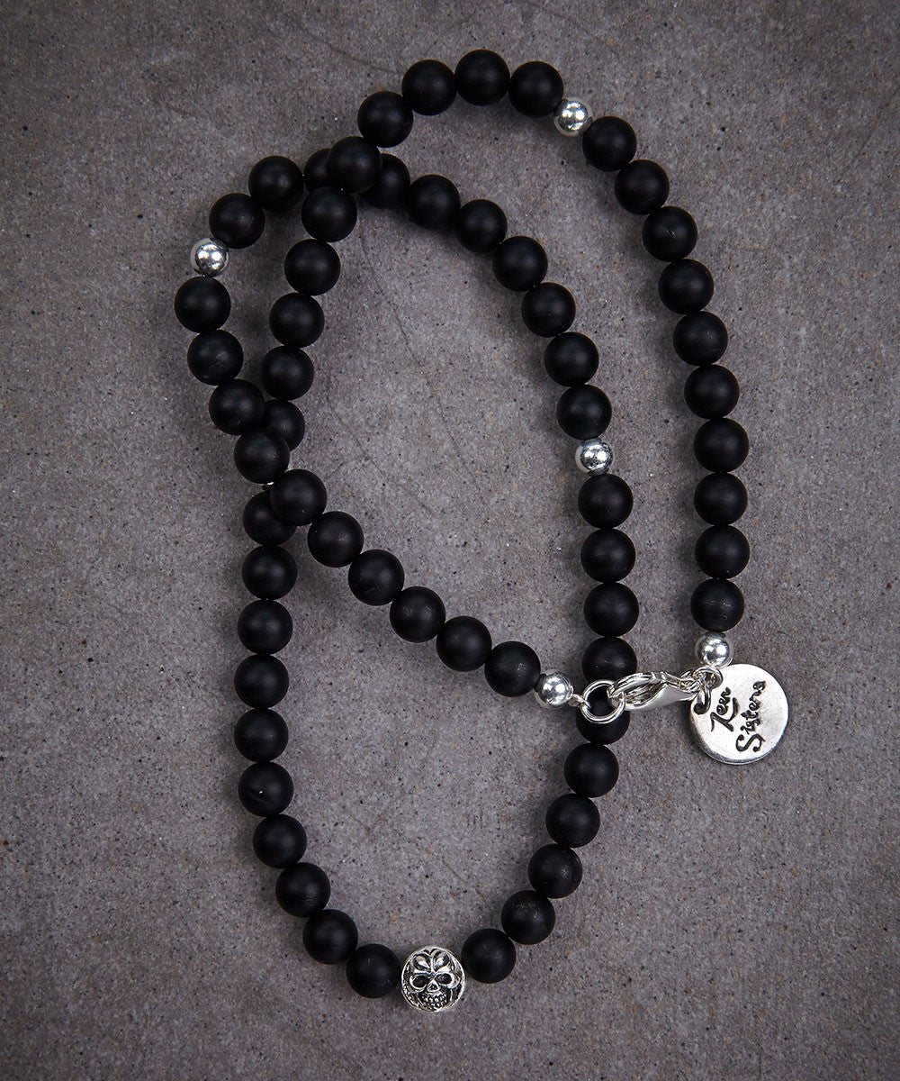 Cross Bead Necklace - Zen Sisters