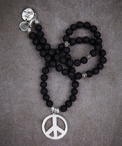 Peace Necklace - Zen Sisters