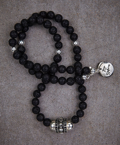Glam Skull Necklace - Zen Sisters