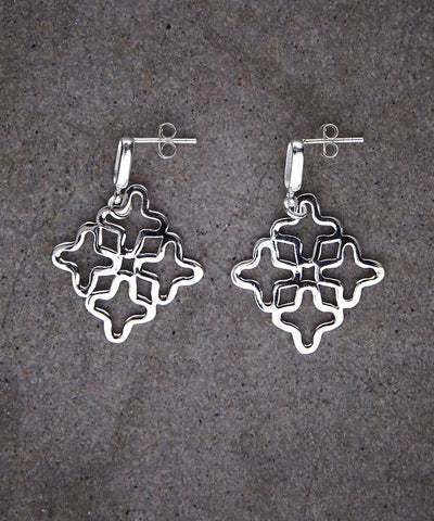Cross Salinas Earrings - Zen Sisters