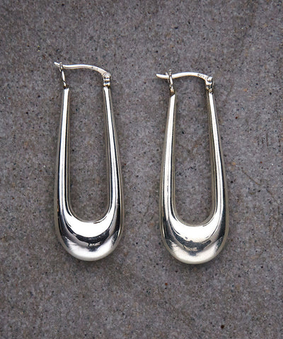 Silver Drop Earrings - Zen Sisters