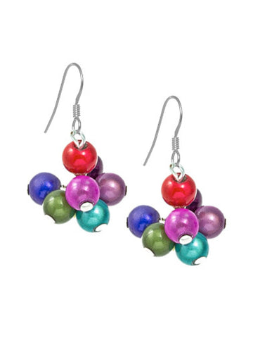 Miracle Bead Cluster Earrings