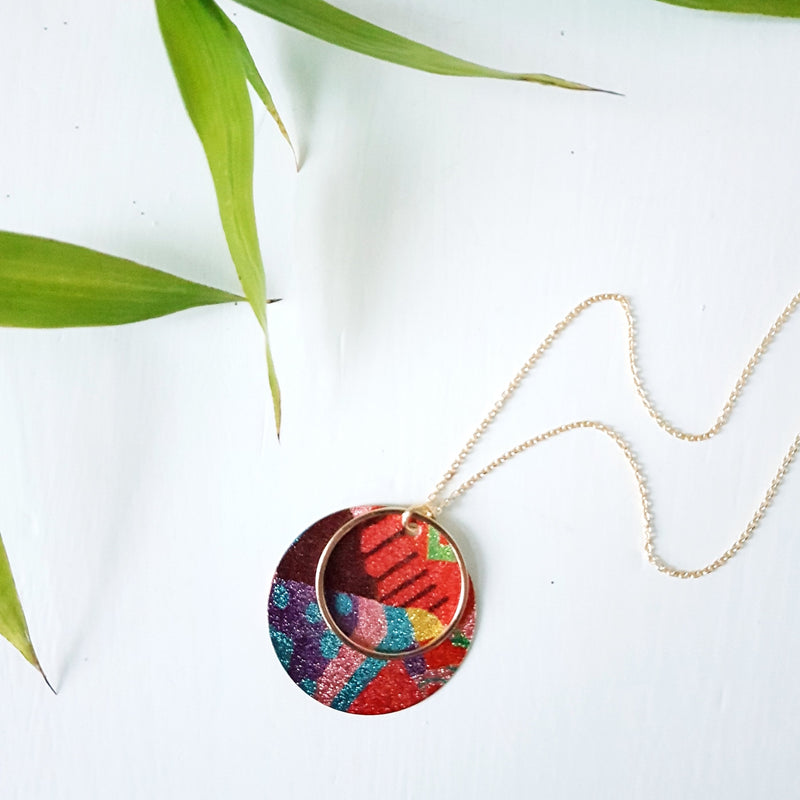 Boho Abstract Necklace