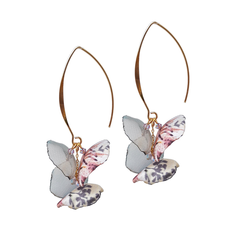 Álainn Summer Blush Drop Earrings