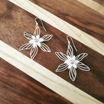 Lamina Flower Earrings
