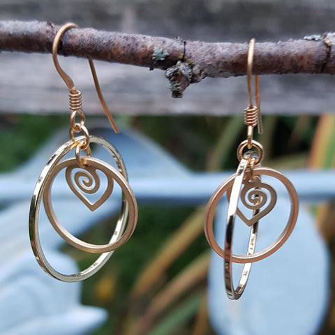 Heart Gazing Earrings