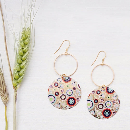 Boho Summer Loop Earrings