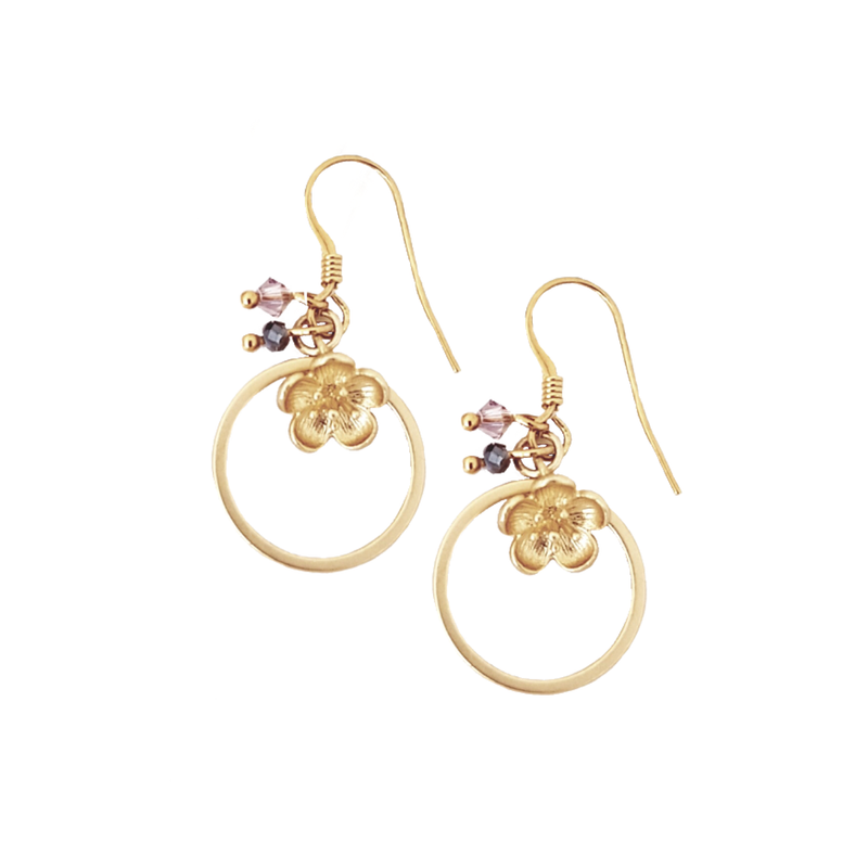 Little Flower Bud Earrings