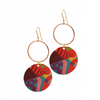 Boho Abstract Loop Earrings