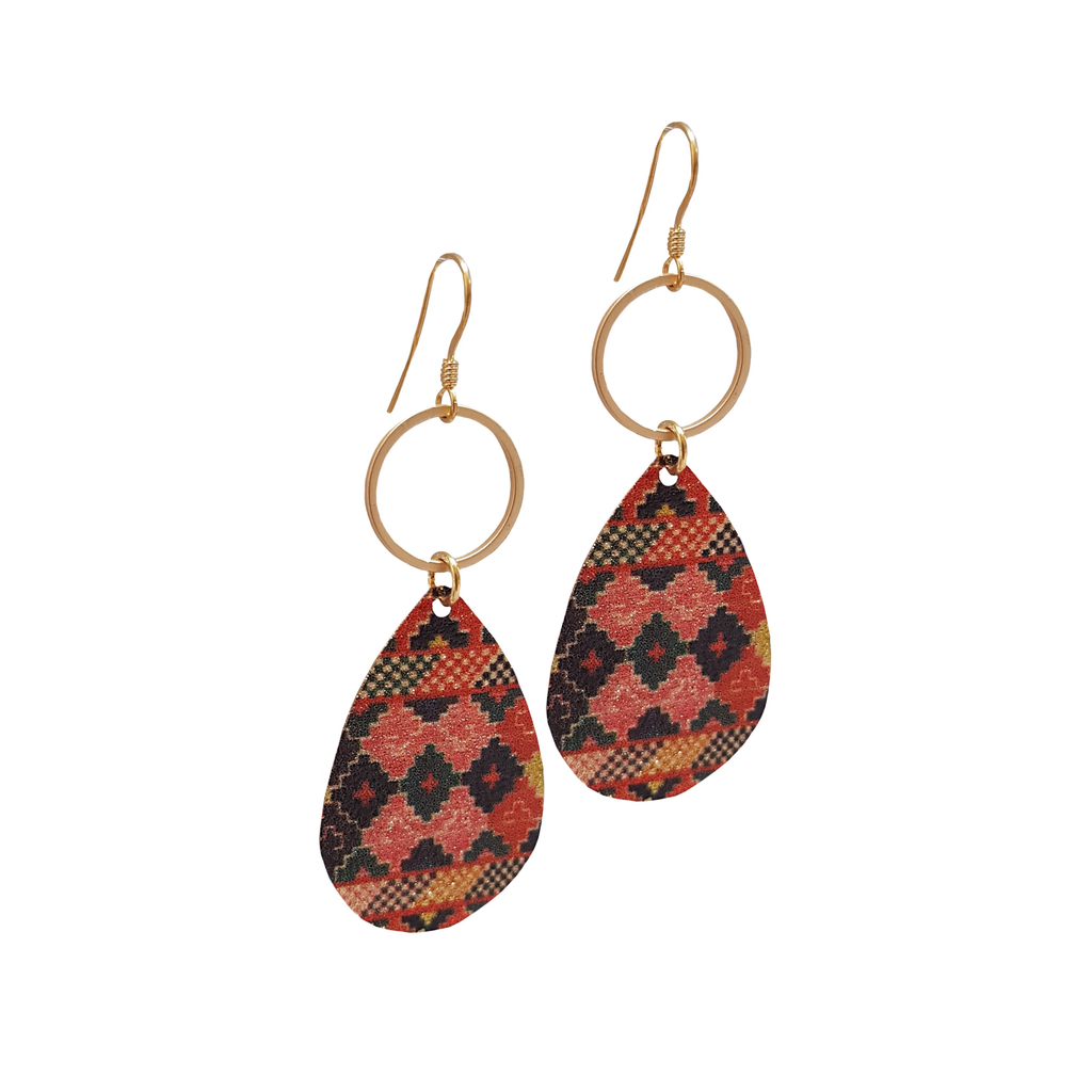 Boho Chic Pattern Earrings