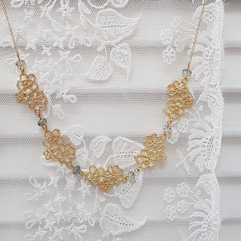 Edwardian Lace Necklace