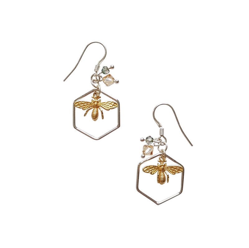 The Bee that Nearly Isn't, Earrings.