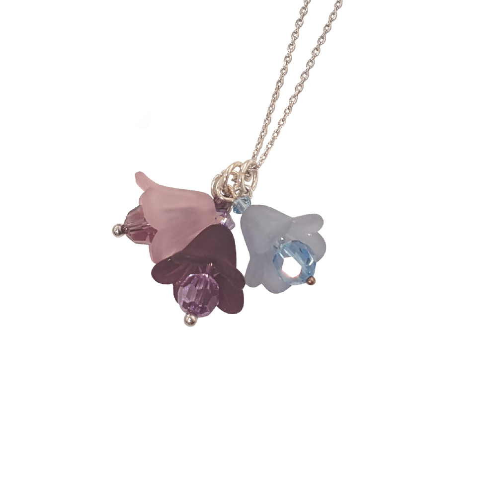 Blue Bell Necklace