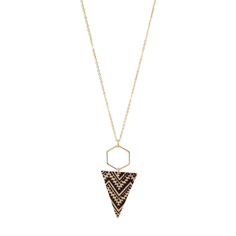Boho Chic Zig Zag Necklace