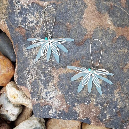 Sea Breeze Loop Earrings