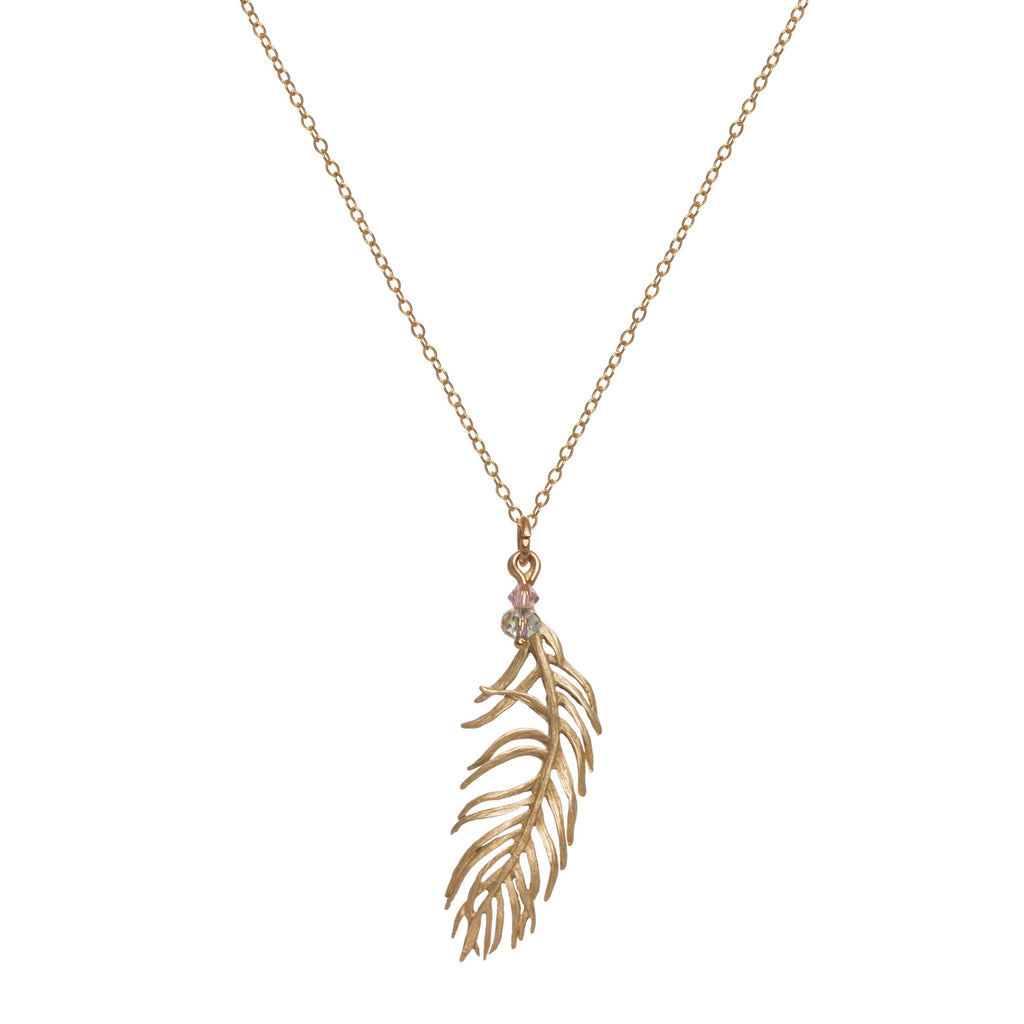 Feather Necklace single