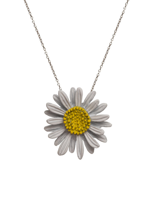 Daisy with Chain Necklace