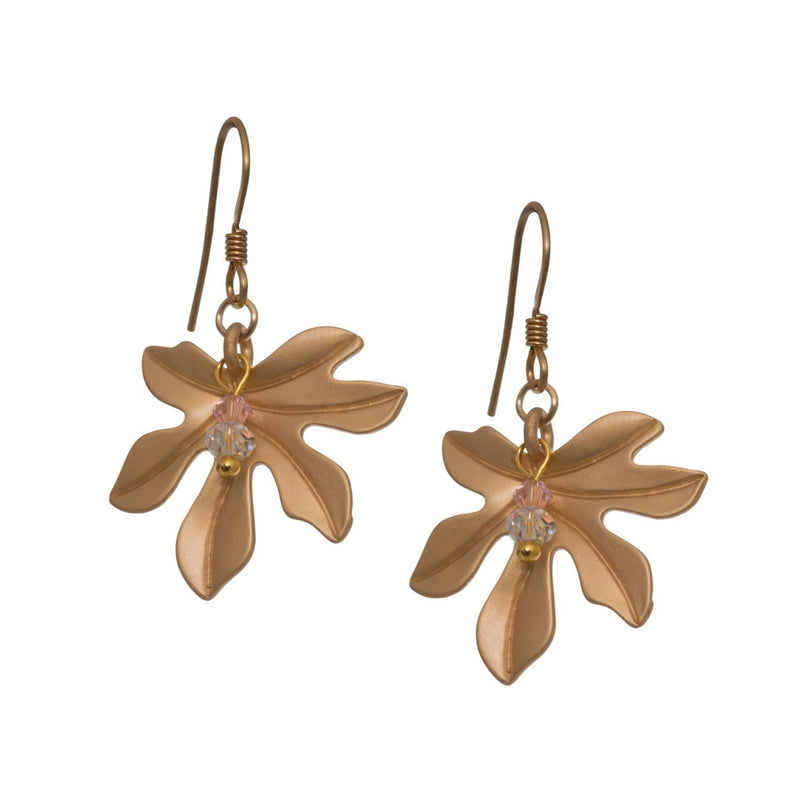 Fig Leaf Earrings