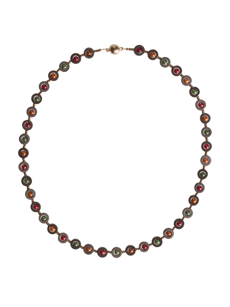 Full Multi Color Hemitite Necklace