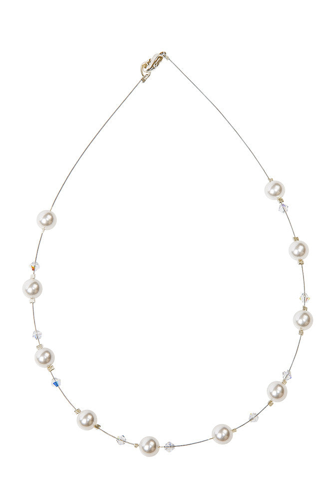 Single 6mm Pearl Necklace