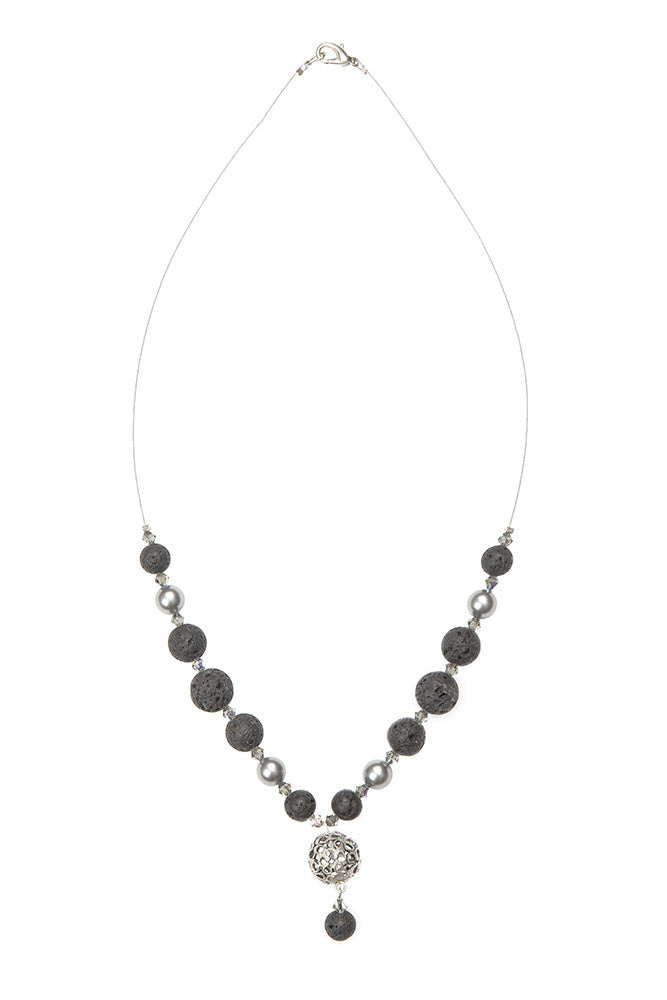 Lava and Filigri Necklace