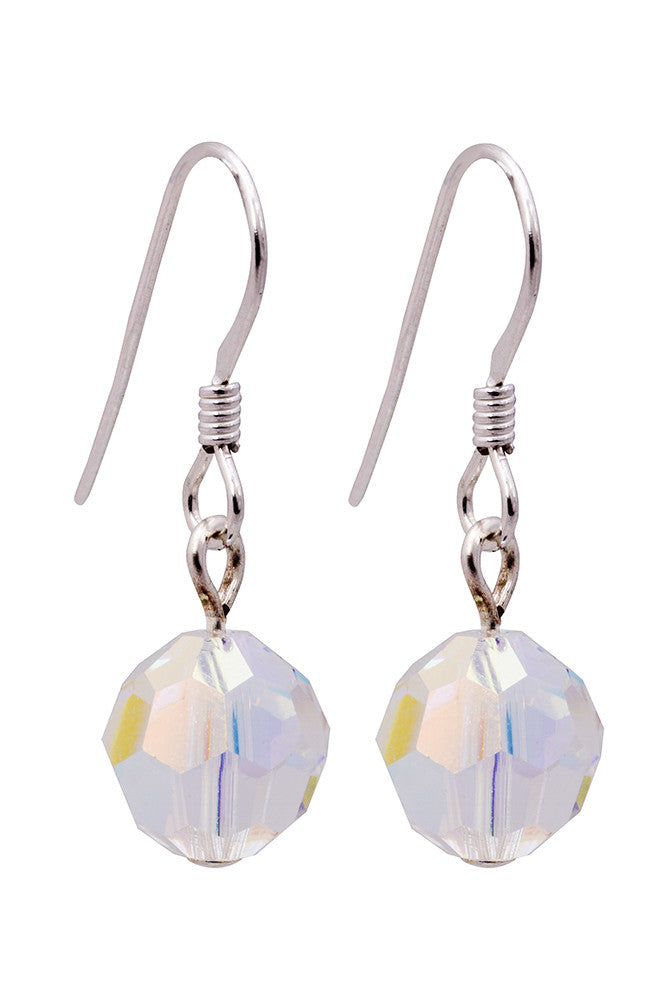 Swarovski 6mm crystal  Earrings