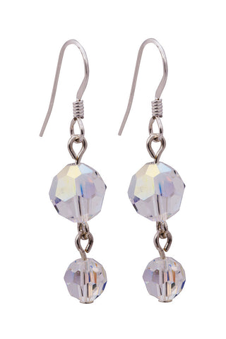 2 Drop Swarovski Crystal Earrings