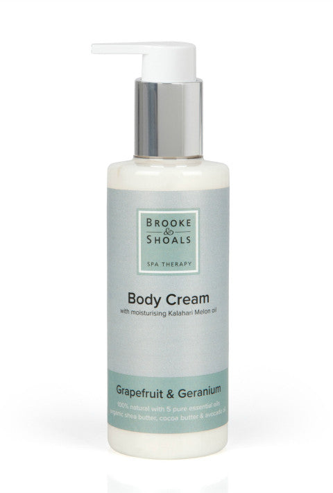 Brooke & Shoals Body Cream 100% Natural