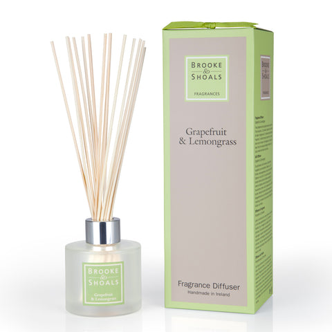 Brooke and Shoals Fragrance Diffuser - Grapefruit & Lemongrass