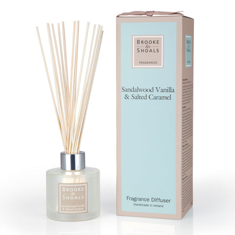 Brooke and Shoals Fragrance Diffuser - Sandalwood Vanilla & Salted Caramel