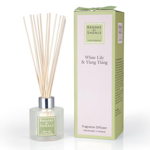 Brooke and Shoals Fragrance Diffuser - White Lily & Ylang Ylang